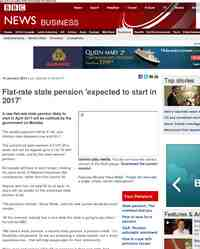 New state pension set for 2017: BBC News